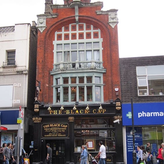 Photo of The Black Cap CLOSED, POSSIBLY REOPENING 2019/20?