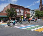 Photo of Rainbow Crosswalk