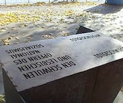 Photo of Memorial to gay and lesbian victims of National Socialism