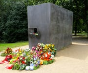 Photo of Memorial to Homosexuals Persecuted Under Nazism