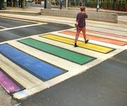 Photo of Phoenix Rainbow Crosswalk